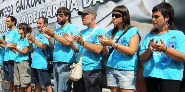 Concentración en Bilbao para exigir la excarcelación de los etarras