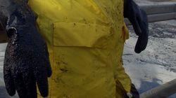 El chapapote dejó problemas de salud entre los pescadores que lo