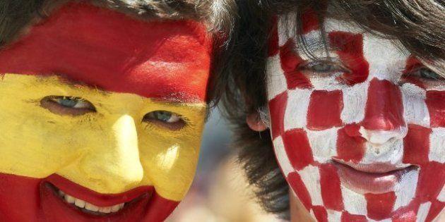 España-Croacia: Fútbol frente a