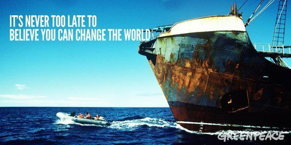 45 aniversario de Greenpeace: gente corriente luchando por un planeta verde y en