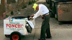 La conmovedora foto que cambió la vida de este vendedor de helados de 89
