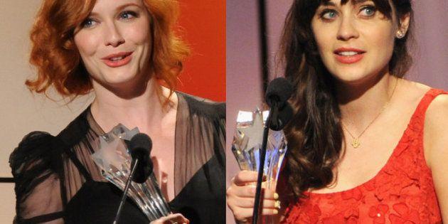 Christina Hendricks, Julianne Moore, Zooey Deschanel: ganan los premios de la crítica de televisión