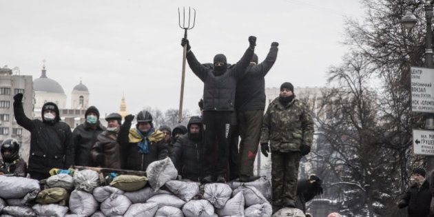 Ucrania debate la amnistía para los manifestantes:
