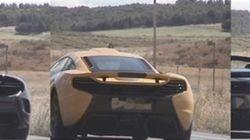 Denunciados tres 'McLaren' por casi duplicar la velocidad en Navarra: