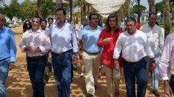 Rajoy, en el Rocío Chico con Fátima