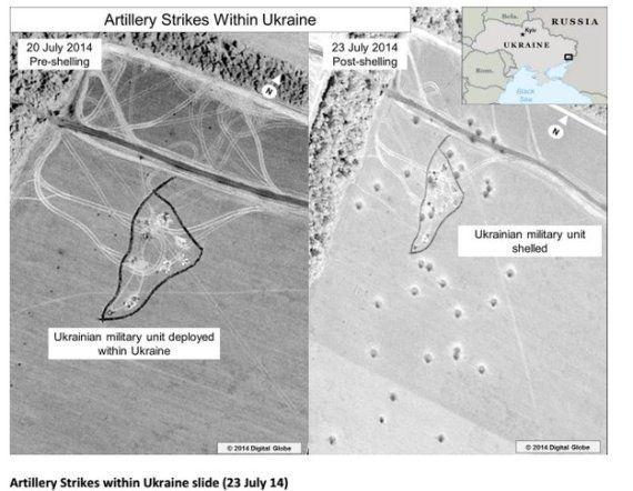 Conflicto Rusia-Ucrania: EEUU publica imágenes por satélite para probar que Rusia bombardea a