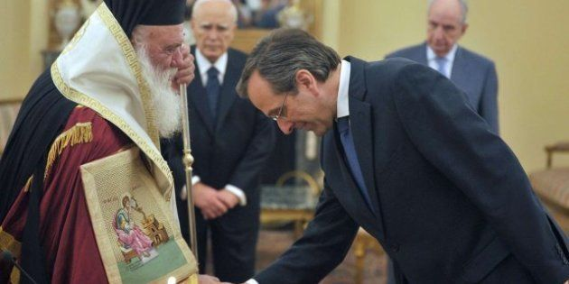 Antonis Samaras ya es el nuevo primer ministro griego y promete