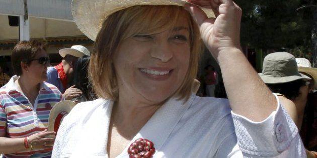 Elena Valenciano cantando el