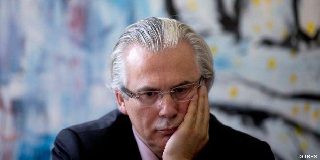 Garzón pide anular la decisión del TC de no ampararle al haber participado Pérez de los