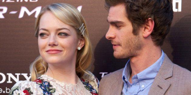 Emma Stone, Andrew Gardfield: la pareja más guapa del momento presenta Spiderman en España