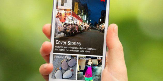 La aplicación 'Flipboard', ya disponible para teléfonos móviles con sistema