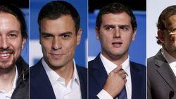 Debate entre Sánchez, Rivera e Iglesias en 'El País' (y Rajoy en