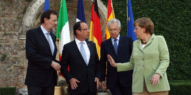 El nuevo debate de Merkel, Hollande y Rajoy: ¿Es Roma la ciudad más