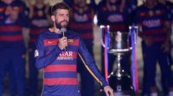 El dardo de Piqué en la celebración del doblete que molestará a más de