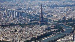 París vista desde el cielo