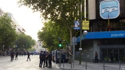 Los empresarios de la Calle Génova protestan