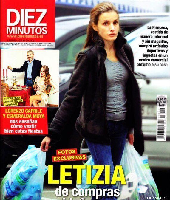 Letizia Ortiz, sin maquillar