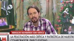 El discurso de Navidad de Pablo Iglesias: