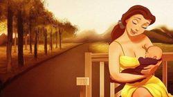 Un artista imagina a las princesas Disney siendo