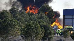 Once muertos al estrellarse un F-16 griego en la base de Albacete