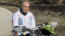 Alberto Prieto, el piloto que correrá el Dakar con una