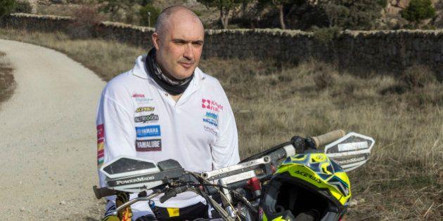 Alberto Prieto correrá el Dakar con una mano: