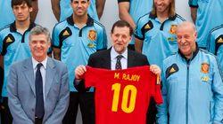 El PP allana el camino de Rajoy a la final de la Eurocopa 2012: