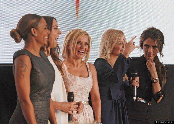 Las Spice Girls vuelven a reunirse para la presentación de su musical Viva Forever