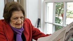 Muere Helen Thomas, icono de la sala de prensa de la Casa