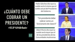 Las frases del debate a tres entre Sánchez, Rivera e