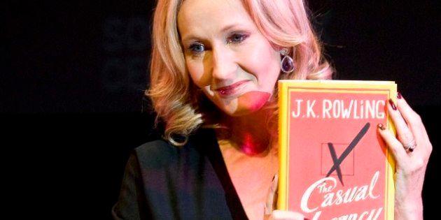 Nuevo libro de J. K. Rowling: novela para adultos en la que aborda la pobreza y los