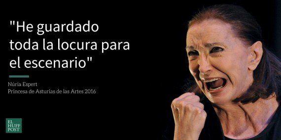 La actriz Núria Espert, Princesa de Asturias de las Artes