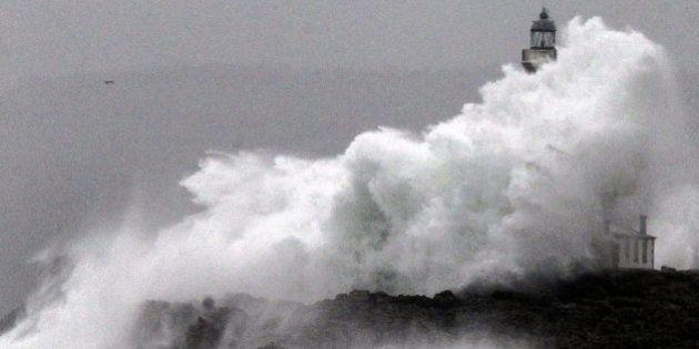 Las fotos del temporal que afecta a toda
