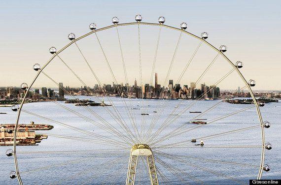 Nueva York: la noria más alta del mundo, proyectada para Staten Island