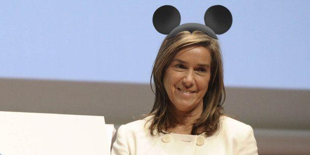 Hacienda certifica que 'Gürtel' pagó parte de un viaje a Disneyland a Ana