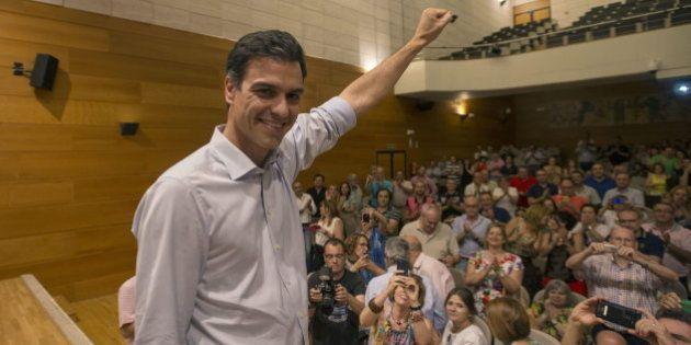 Lucha de avales en el PSOE: Pedro Sánchez reúne 36.000 firmas frente a las 26.000 de