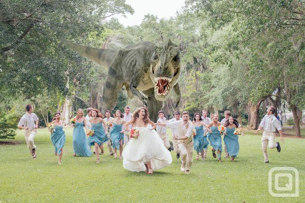 ¿La mejor foto de boda con