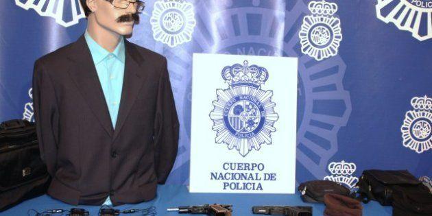 Detenidos dos atracadores en Madrid cuando iban a robar