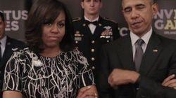 Los geniales mensajes cruzados entre los Obama, el príncipe Harry y la reina de