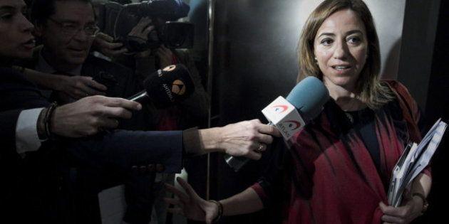 Carme Chacón deja su escaño como diputada en el Congreso para impartir clases en