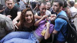 Violencia en una manifestación en defensa de un parque en