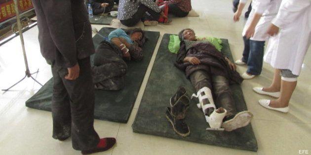 Terremoto en China: Un seísmo de 6,6 deja decenas de muertos y centenares de