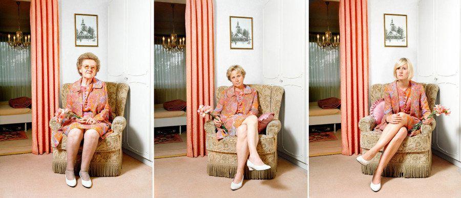 El homenaje de esta fotógrafa a su madre y a su abuela
