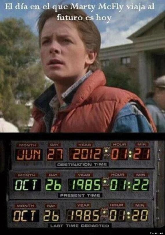 Marty McFly no viajó al futuro un 27 de junio de 2012, era un bulo de Internet (FOTO Y