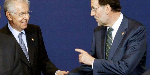 Rajoy y Monti echan un órdago a Merkel y logran concesiones para frenar la