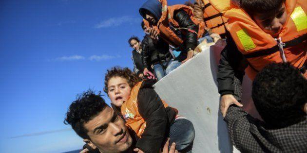 Uno de cada tres refugiados que llega a Europa es