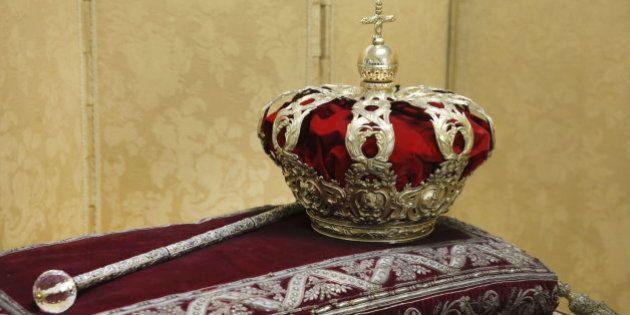 Así son la corona y el cetro que presidirán la proclamación de Felipe