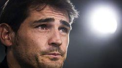 La emoción de Iker, foto a