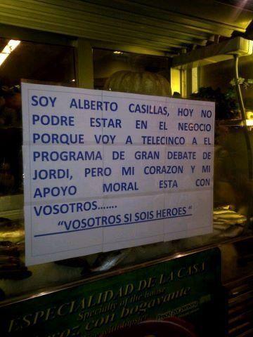 Alberto Casillas, el camarero del Bar Prado:
