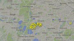 Problemas en el espacio aéreo de Londres por un fallo